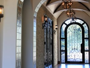 Spectacular Hallway Running From Entry Foyer to Back Door